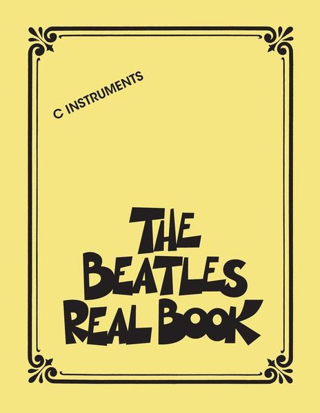 The Beatles Real Book Hal Leonard