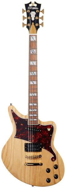 DAngelico Deluxe Bedford Nat Swamp Ash