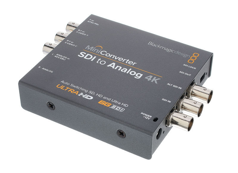 Mini Converter SDI - Analog 4K Blackmagic Design