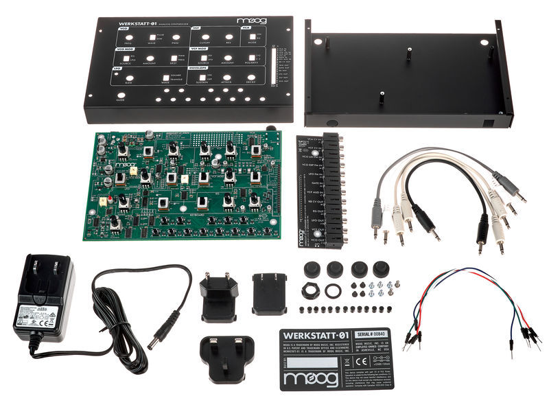 Werkstatt-01 and Expander Moog