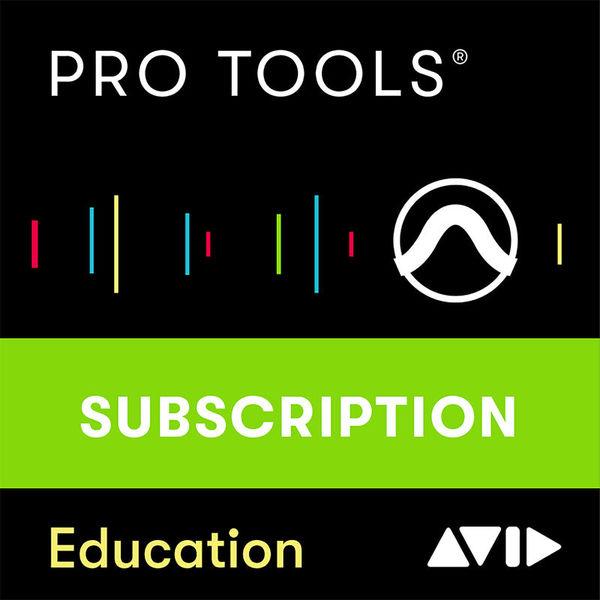 Pro Tools 1Y Subscription EDU Avid