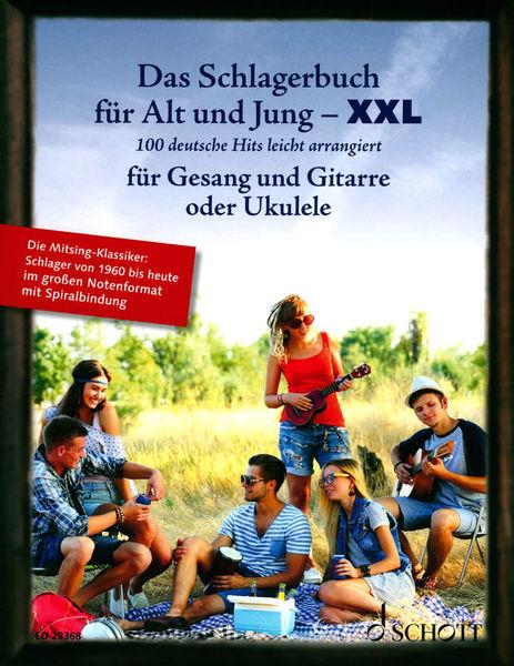 Schlagerbuch Git/Uku XXL Schott