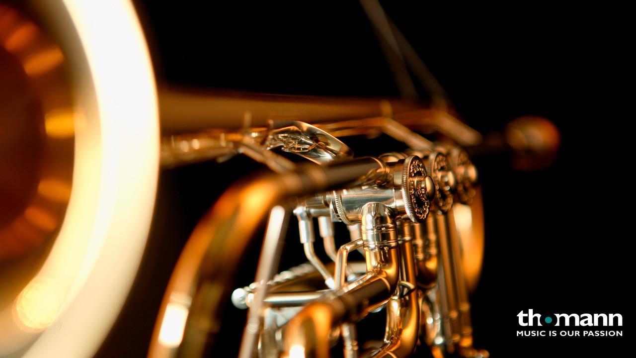 Johannes Scherzer 8218-L Bb-Trumpet