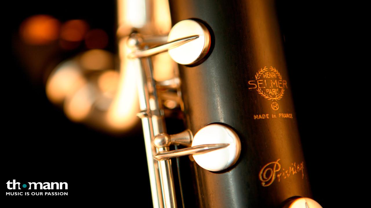 Selmer 23/II Bass Clarinet Low Eb