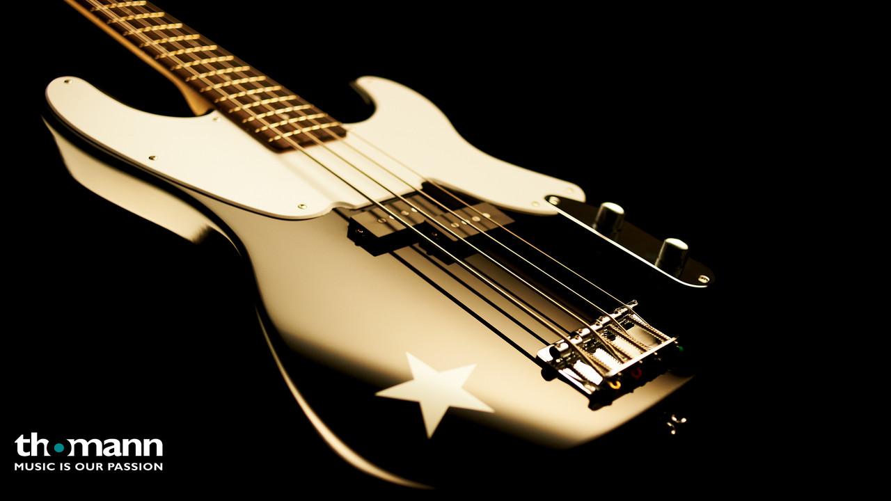 Fender SQ Mike Dirnt Preci Bass BK