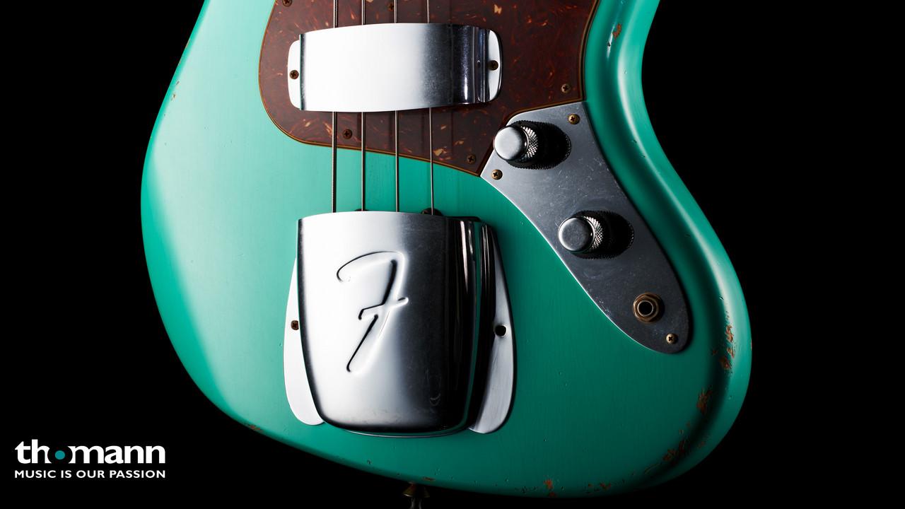 Fender 62 Jazz Bass Relic SFG