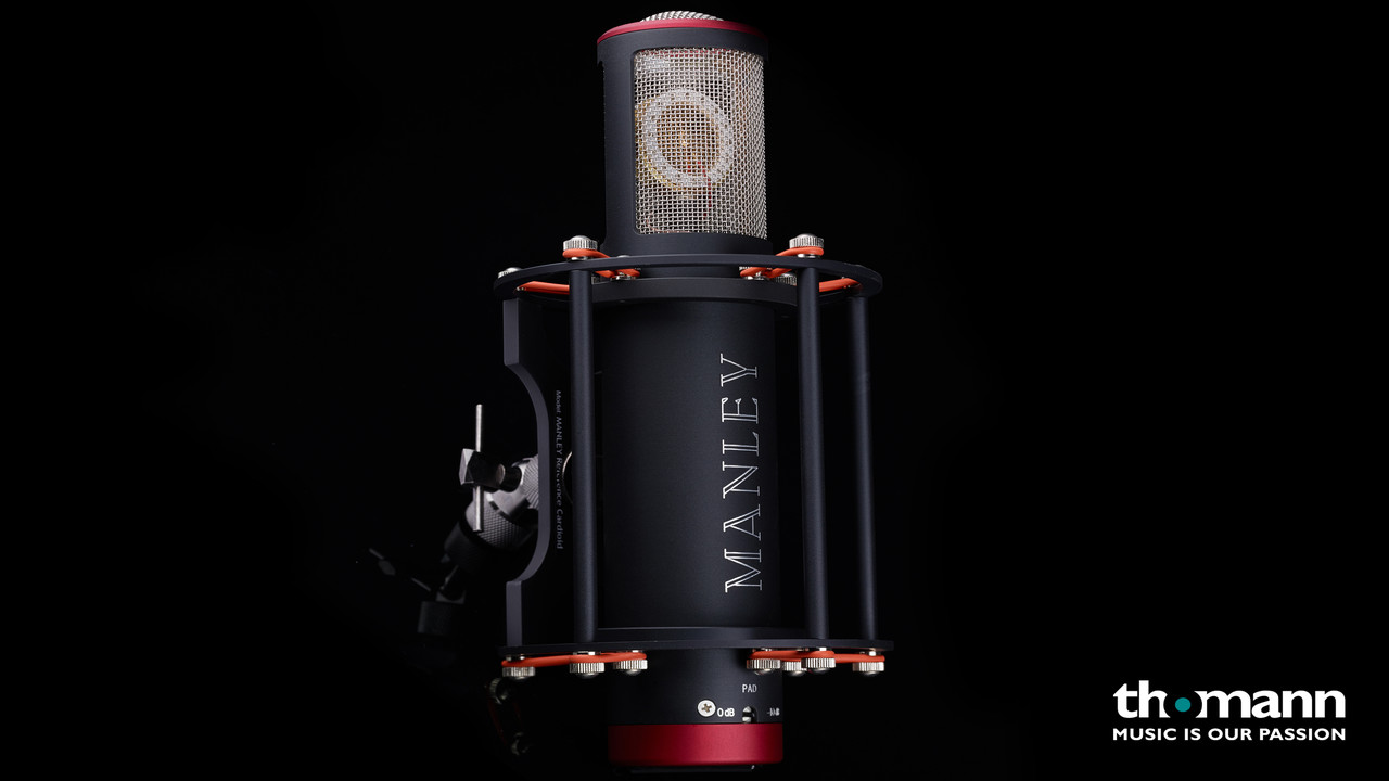 Manley Reference Cardioid Mic black