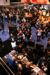 Ashdown on NAMM Show 2011