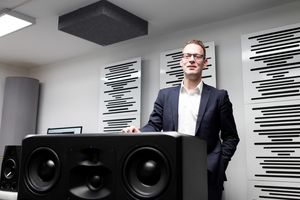 Christian Hellinger, CEO von ADAM Audio