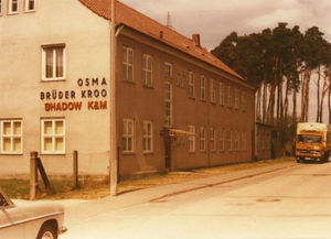 Firmengebäude in den 70er Jahren