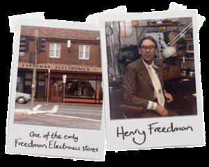 Gründer Henry Freedman