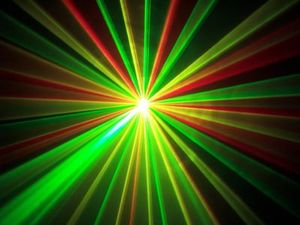 Lasershow with Laserworld Laser