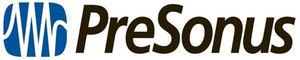 Presonus -yhtiön logo