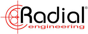 Radial Engineering Logo de la compagnie