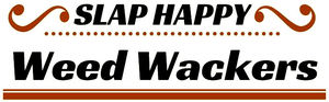 Slap Happy Weed Wackers bedrijfs logo