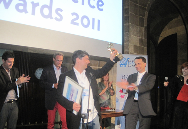 Winnaar van de Global E-Commerce Summit