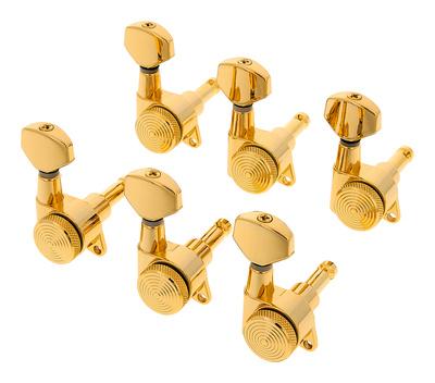 Schaller Locking Tuners Gold Locking Tuners 6l Gold