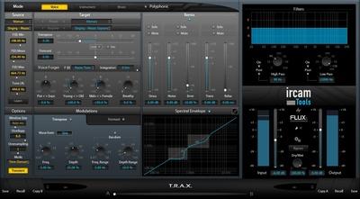 Flux Ircam Trax v3